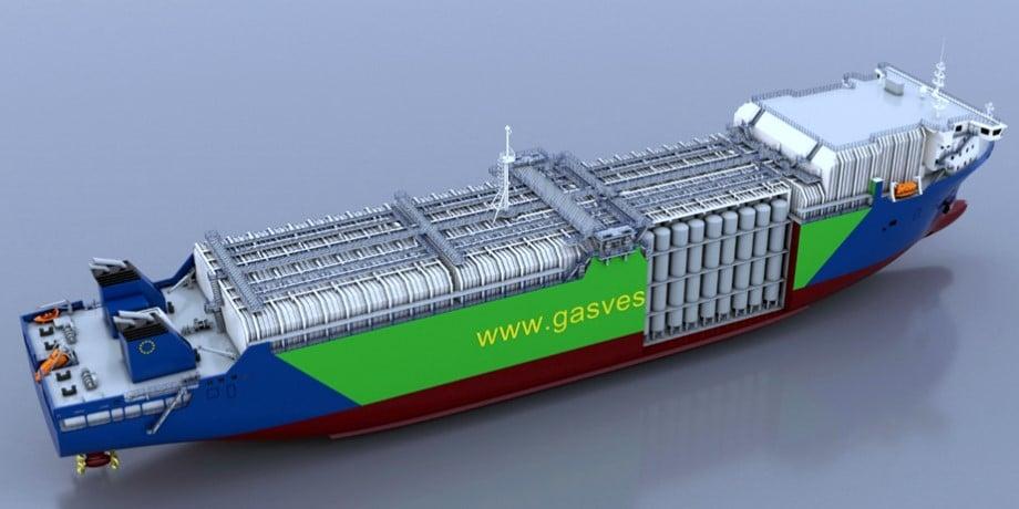COMPRESSED NATURAL GAS TRANSPORT SYSTEM